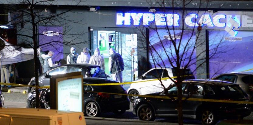 La sanglante prise d'otages du 9 janvier au magasin Hyper Cacher. (EREZ LICHTFELD/SIPA)
