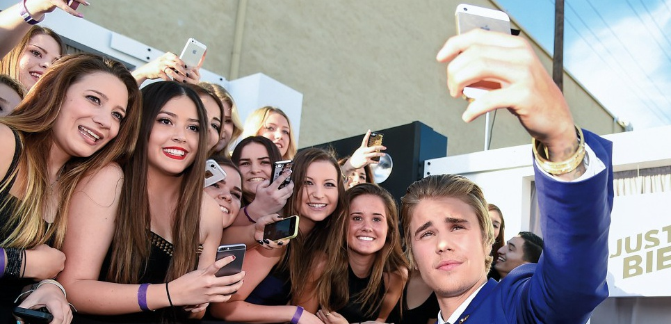 Justin Bieber, le 14 mars, à Los Angeles. AFP