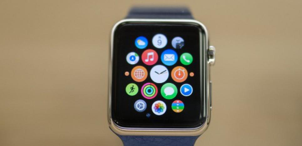 L'Apple Watch, commercialisée en France depuis le 24 avril. © DATICHE NICOLAS/SIPA