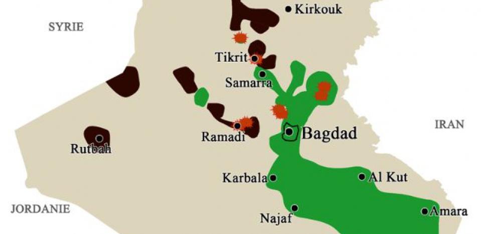 L'avancée de l'EI en Irak (Boris Manenti)