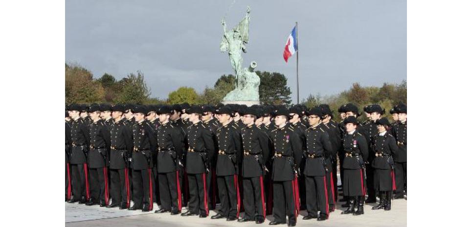 Des étudiants de l'Ecole Polytechnique le 17 octobre 2009, à Palaiseau près de Paris (c) Afp