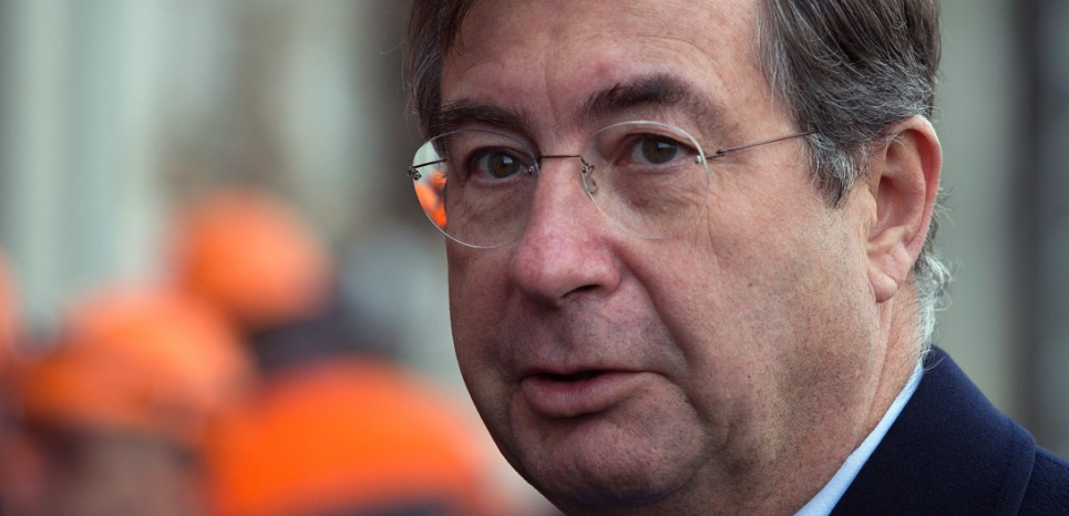 Martin Bouygues, le 17 janvier 2014. (AFP PHOTO JOEL SAGET)