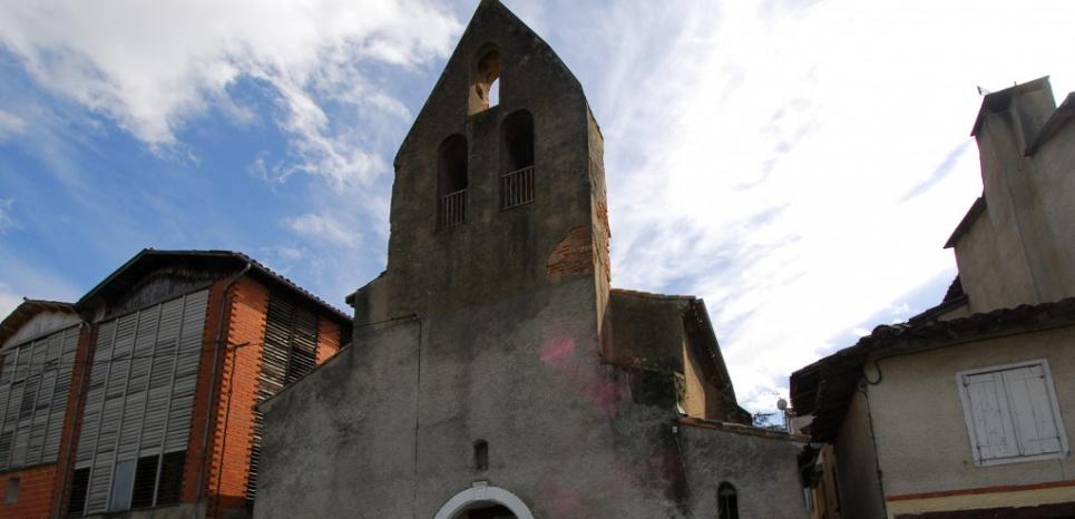 L'église Saint-Jean de la Rive devenue mosquée Ennour al-Mohammadi à Graulhet (Tarn). (DR)
