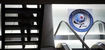 Au quartier général de la DGSE, dans le 20e arrondissement de Paris. (MARTIN BUREAU / AFP)