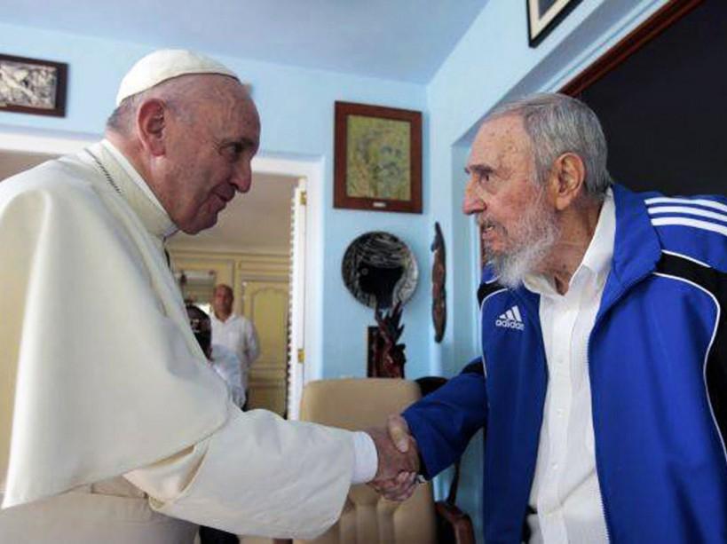 PHOTOS. Ils ont rendu visite à Fidel Castro