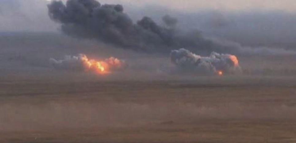 La Russie a conduit ses premières frappes en Syrie le mercredi 30 septembre 2015. (Capture d'écran/RTBF)