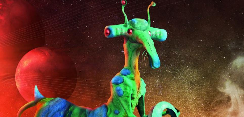 Un extraterrestre scientifiquement plausible et dessiné par l'illustrateur Didier Florentz. ©Didier Florentz