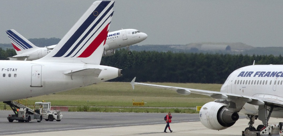 Air France (JOEL SAGET / AFP)