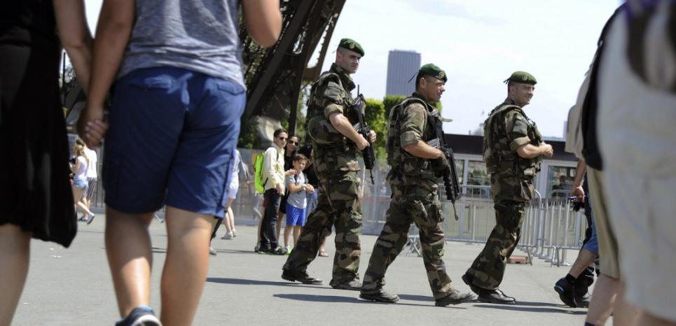 """""""Pour l'instant, nous avons eu des attentats de cour de récréation"""", craignent les responsables de la lutte antiterroriste en France. (THOMAS OLIVA/AFP)"""