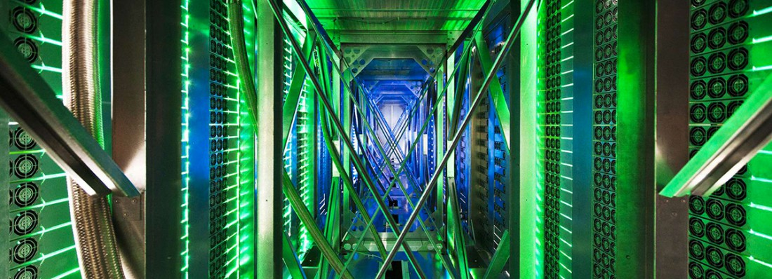 Dans le data center de Google aux Etats-Unis (Connie Zhou/AP/SIPA)