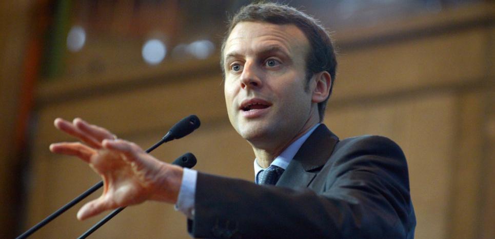 Emmanuel Macron au cese afp