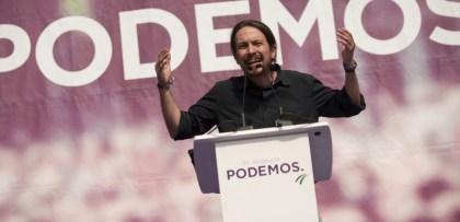Discours du leader de Podemos Pablo Iglesias Jorge Guerrero / AFP