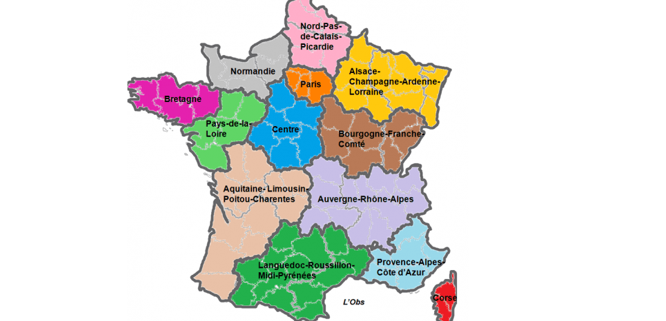 Hauts-de-France, Acalie, Aura... Où en sont les noms des nouvelles régions ?
