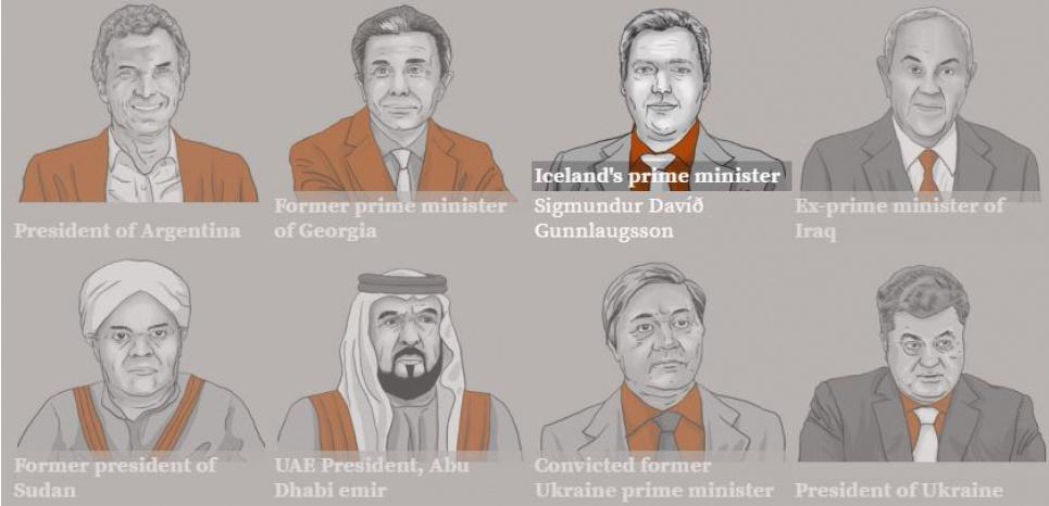 """""""Panama papers"""" : quelles sont les personnalités concernées ?"""
