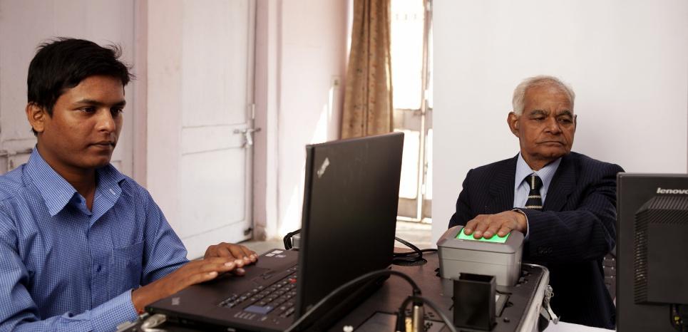 Le programme Aadhaar, un fichier biométrique de plus d'un milliards d'Indiens (Amit Dey / Morpho)