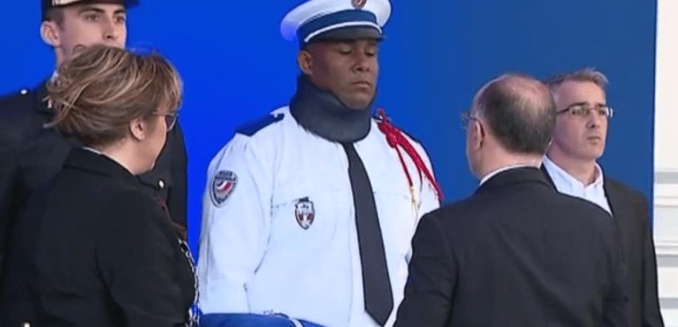 Voiture incendiée : le policier agressé à Paris par des casseurs décoré et promu