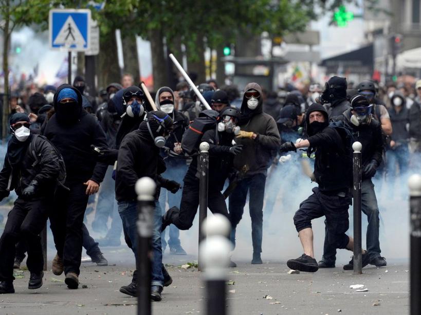 PHOTOS Loi Travail Violents Affrontements Lors De La