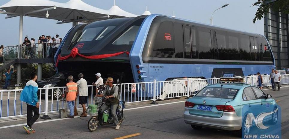 Le TEB fait son premier teste en Chine New China