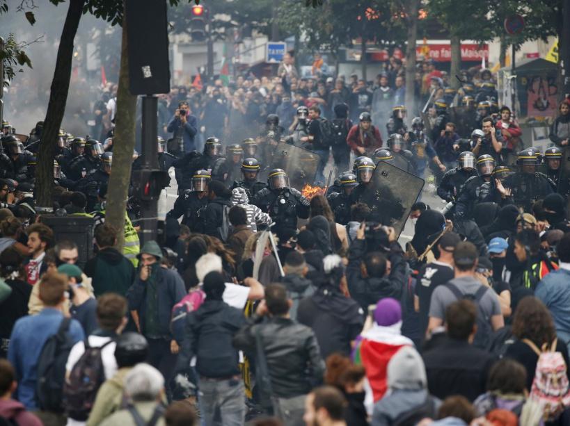 PHOTOS. Loi Travail : violents affrontements lors de la manifestation à Paris