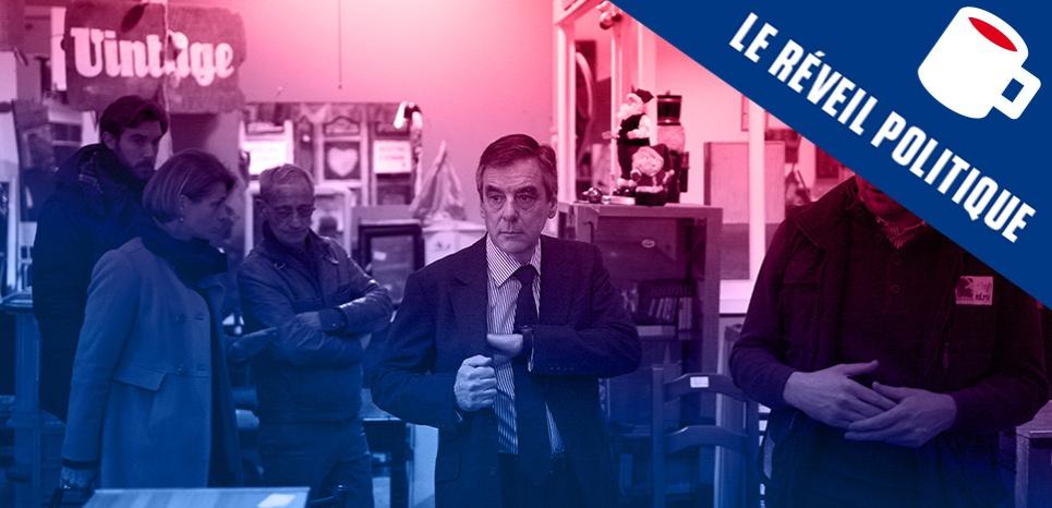 Emmaüs contre Fillon, un château dans la Sarthe, Le Pen cherche banque à tout prix