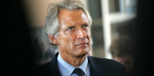Dominique de Villepin à Oyonnax, le 23 septembre 2005 (FACELLY/SIPA)