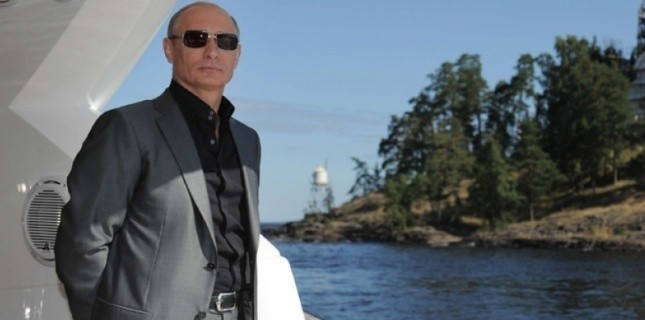 Vladimir Poutine, en août 2011 (Alexei Druzhinin/AP/SIPA)