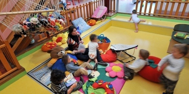 Une crèche en France. Photo d'illustration (AFP)