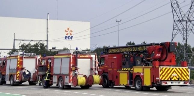 Un incident, qui aurait été provoqué par une réaction chimique, a fait deux blessés dans la plus vieille centrale de France. (SEBASTIEN BOZON / AFP)