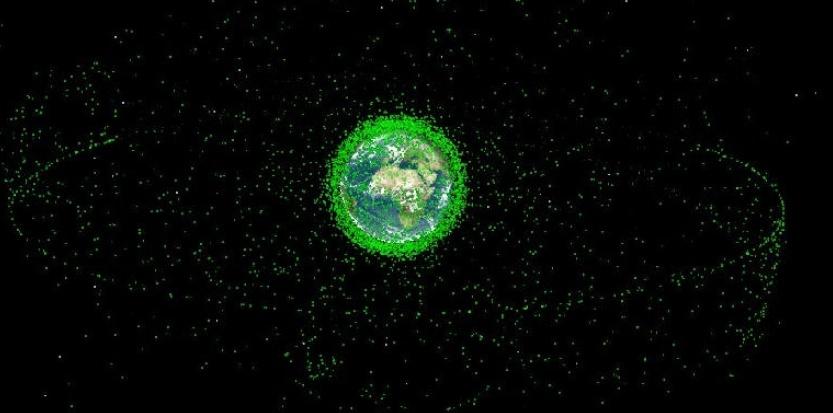Depuis 1957, 4900 lancements dans l'espace ont été réalisés, occasionnant une pollution des orbites très importante. CNES