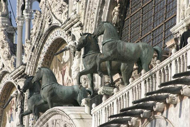 Les quatre Chevaux de St Marc – Photo Nino Barbieri