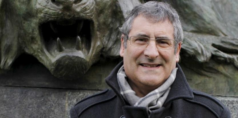 Gilles Boeuf, président du Museum d'Histoire Naturelle dans les jardins du museum, à Paris, en 2009. BISSON BERNARD/JDD/SIPA