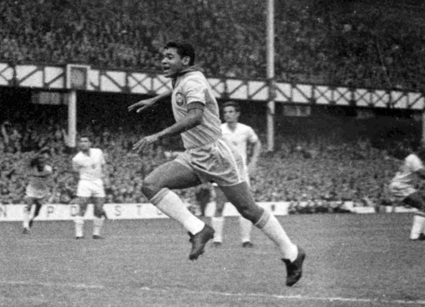 7427018 Noir, brésilien et footballeur : de la poudre de riz à la légende Pelé