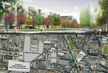 L'Etat financera plus de la moitié du campus Condorcet à Aubervilliers
