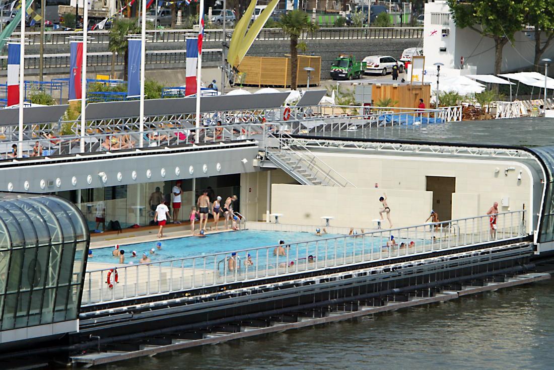 Les piscines les plus fraches de Paris  24 juillet 2014  O  LObs