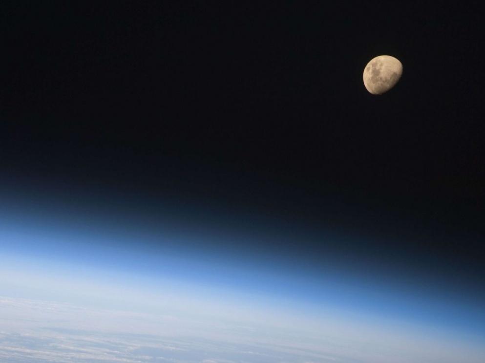 La Lune par Discovery