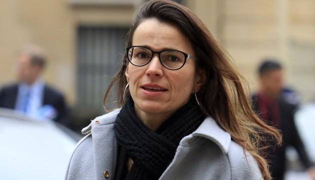 Auirélie Filippetti a-t-elle eu tort de partir en vacances à l'Île Maurice ? Ici, le 30/11/12 à Matignon. (Sipa)
