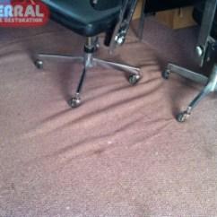 Office Chair Not On Wheels For Bad Back Rolling Carpet Damage - Vidalondon