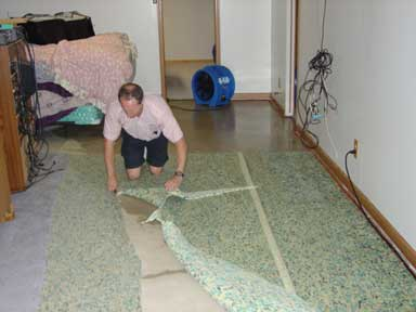Water Damage Restoration Process  Steps  Fort Wayne, In