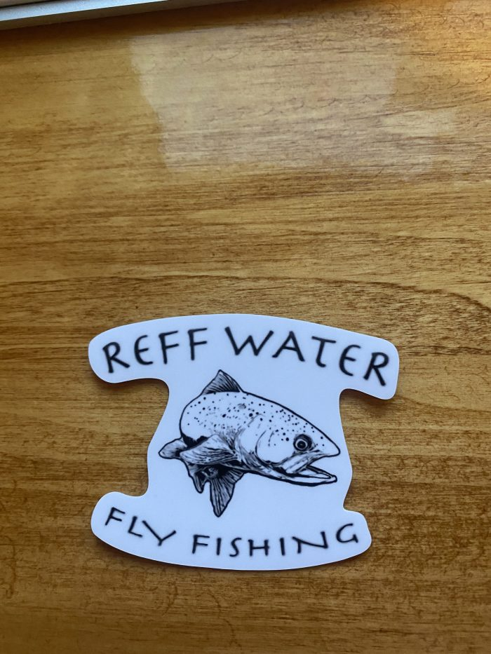 Reff Water Trout Sticker