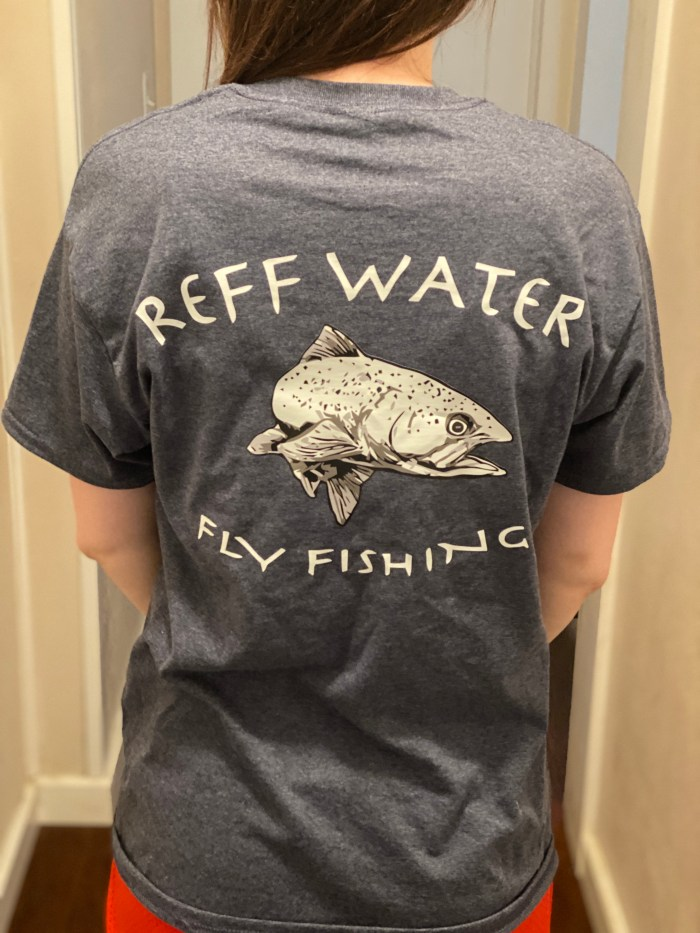 Reff Water Shirt Navy Heather (Small)