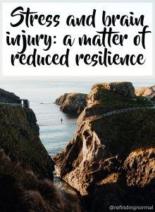 stress and brain injury pin