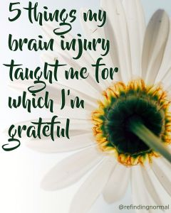 grateful brain injury things pin