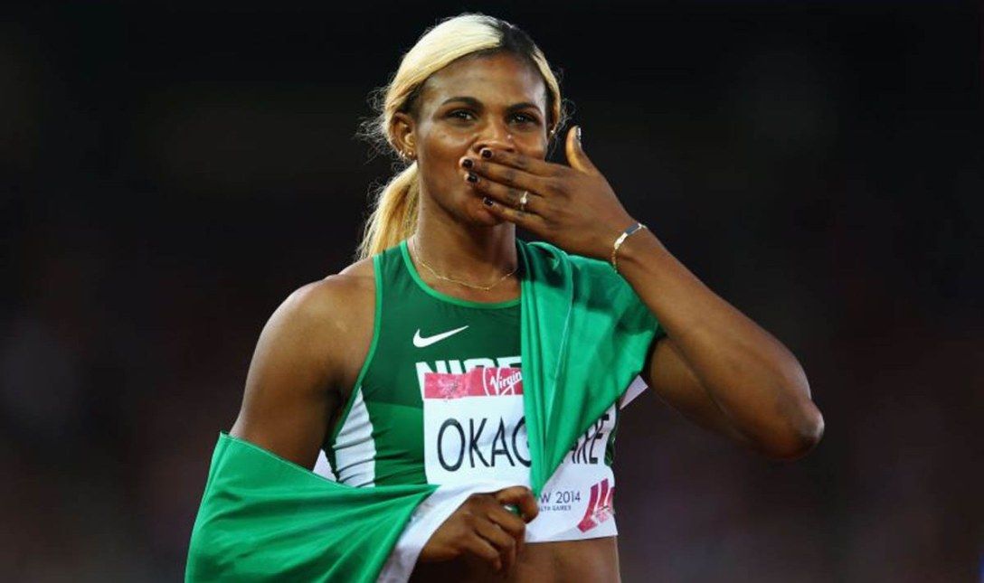 Blessing Okagbare Sets New 100m Meet Record in Slovakia