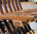 Wine Barrel Patio Chair