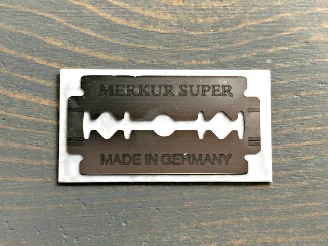 Merkur Razor Blade Edge Coating