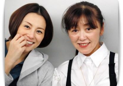 米倉涼子と内山聖子