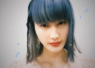 橋本愛 青髪