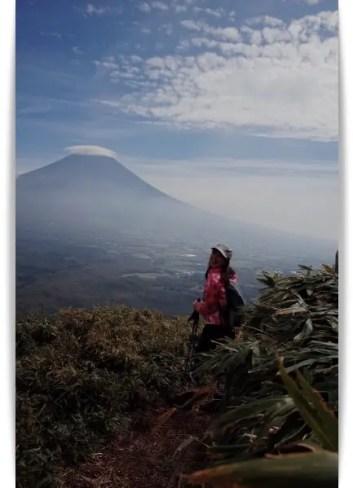 川田裕美アナの登山画像