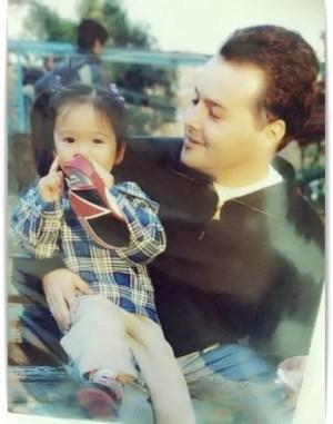 藤田ニコルと父親