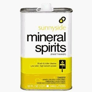 Mineral Spirits Plastic
